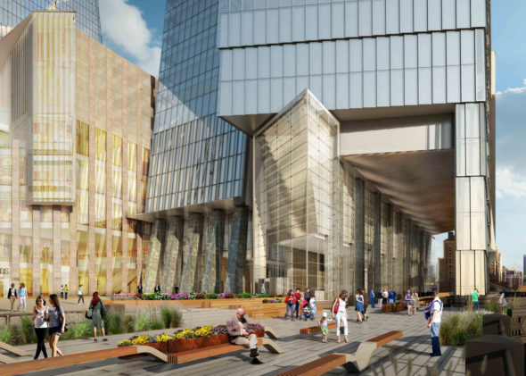 10 hudson yards high line connection  hudson yards