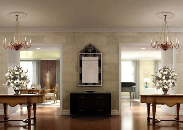 Architectural millwork at sefina