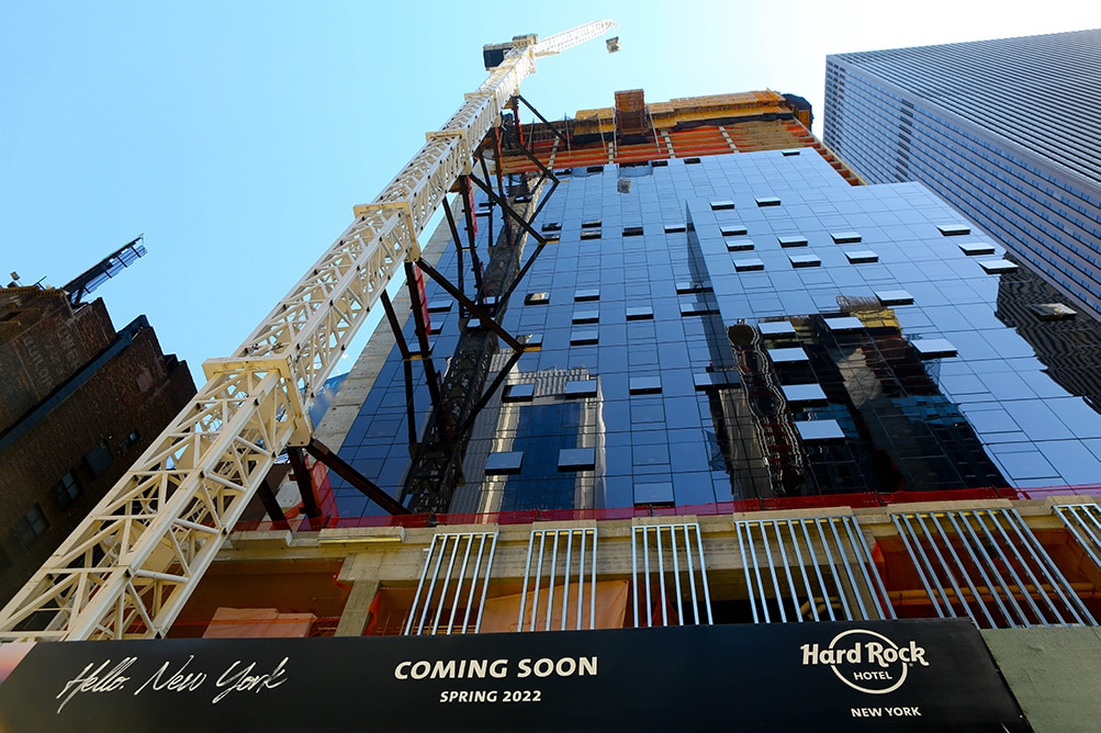 Hard rock hotel new york  over 1000 examples of luxury architectural millwork