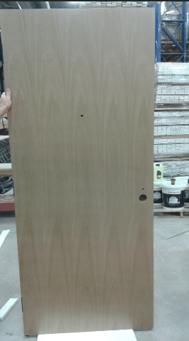 Fire rated door finished product custom sefina